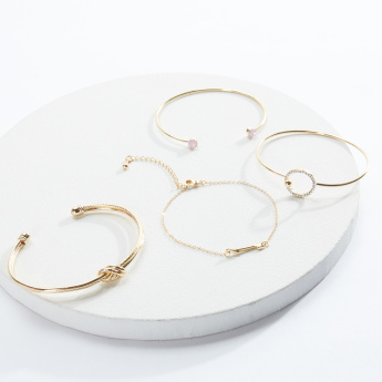 Sasha Metallic Bracelet - Set of 4