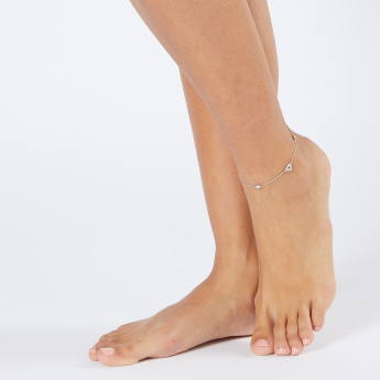 Sasha Studded Anklet with Lobster Clasp