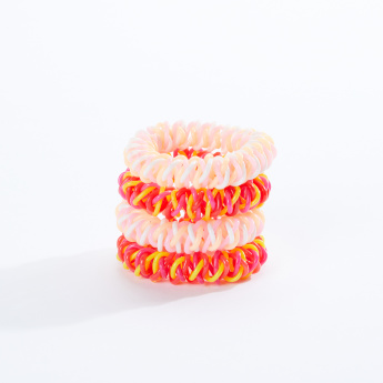 Sasha Spiral Hair Tie - Set of 3