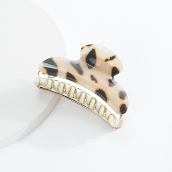 Sasha Leopard Print Hair Clamp