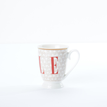 ELLE Printed Mug with Handle