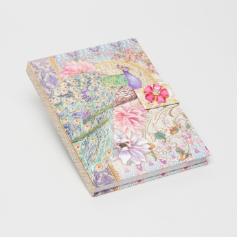 Punch Studio Printed Journal with Brooch