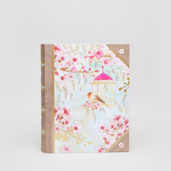 Punch Studio Chinoiserie Garden Printed Book Storage Box