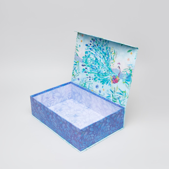 Punch Studio Printed Rectangular Box with Flap
