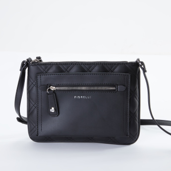 Fiorelli Alban Quilted Crossbody Bag with Zip Closure