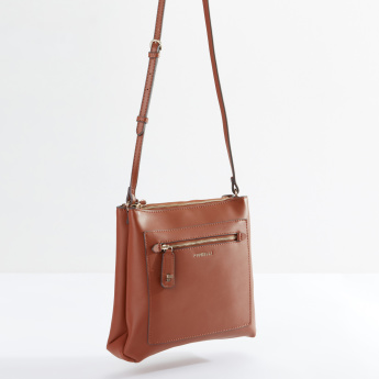 Fiorelli Crossbody Bag with Adjustable Strap and Zip Closure