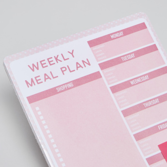 Tri-Coastal Weekly Meal Plan Journal