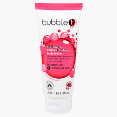 Bubble T Hibiscus and Acai Berry Tea Body Lotion with Essential Oils
