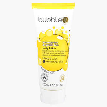 Bubble T Lemongrass and Green Tea Body Lotion - 200 ml