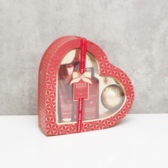 Baylis & Harding Midnight Fig and Pomegranate Heart Gift Set