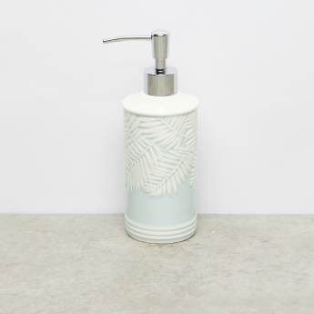 Ash Leaf Textured Lotion Dispenser with Pump