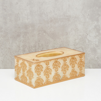 All Over Pattern Decorative Tissue Holder