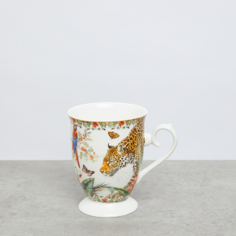 Leopard Printed Tall Coffee Mug