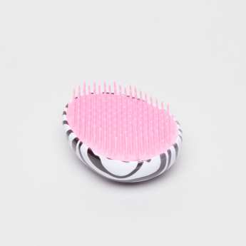 Sasha Zebra Printed Hairbrush