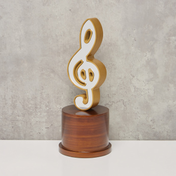 Musical Note Showpiece