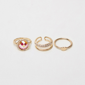Sasha Assorted Finger Ring - Set of 3