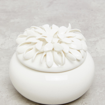 Flower Detail Trinket Box