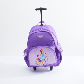 LEGO Friends Printed Trolley Backpack with Zip Closure