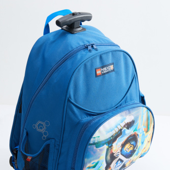 LEGO Nexo Knights Printed Trolley Backpack with Zip Closure