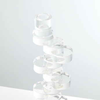 Crystal Taper Candle Holder