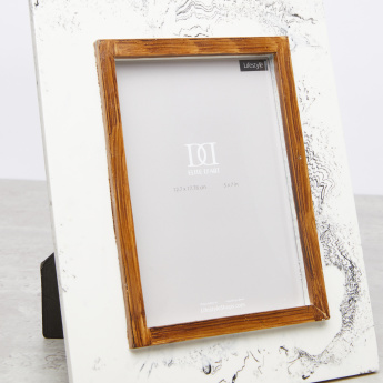 Printed Rectangular Photo Frame - 5x7 inches