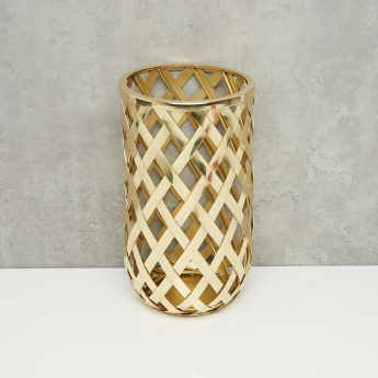 Metallic Candle Holder