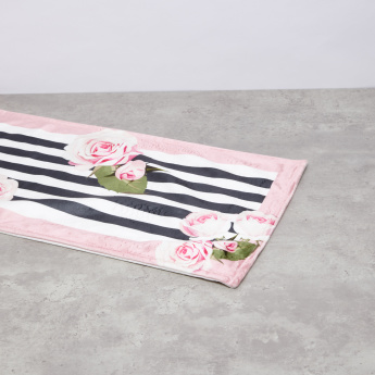 Rosalie Floral Printed Table Runner - 33x180 cms
