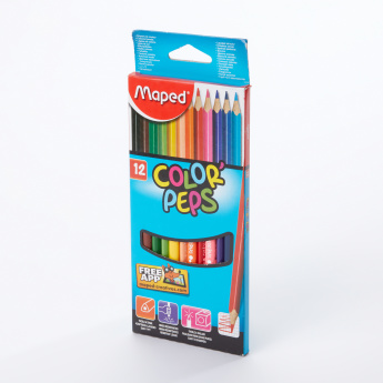 Maped 12-Piece Colour Pencil Set