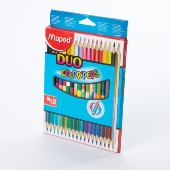 Maped 36-Piece Duo Pencil Color'peps Set