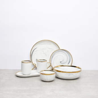Decorative Round Plates - Set of 4