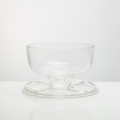 Circleware Slotted Cake Plate with Dome