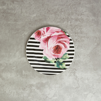 Aztec Floral Printed Plate - Set of 4