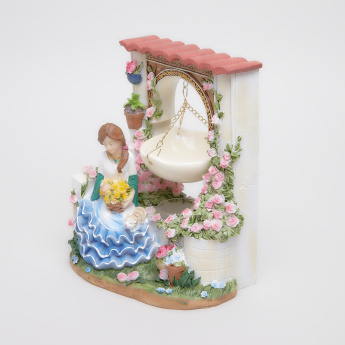 Lady in Flowers Handcrafted Oil Burner
