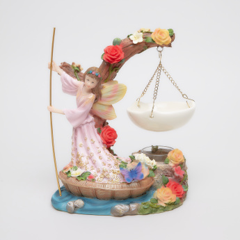 Fairy in Boat Handcrafted Oil Burner