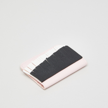 Fringe Detail Card Wallet