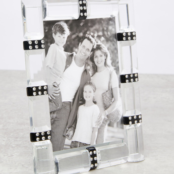 Godinger Crystal Detail Photo Frame - 4x6 inches