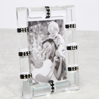 Godinger Crystal Detail Photo Frame - 3x5 inches