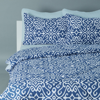 Printed 6-Piece Queen Comforter Set
