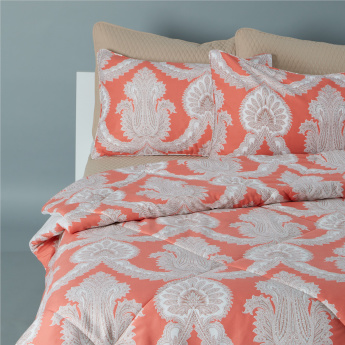 Printed 6-Piece King Comforter Set