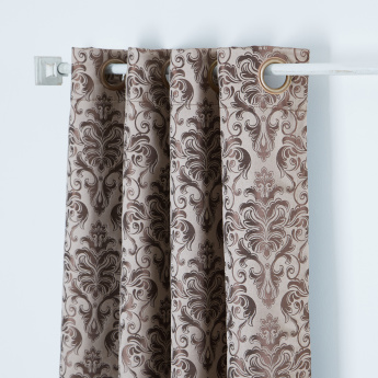 Dexter Jacquard Curtain Pair With Eyelets