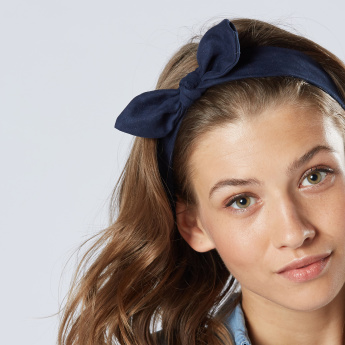 Sasha Knot Detail Headband - Set of 2