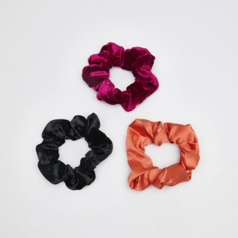 Sasha Textured Hair Tie - Set of 3