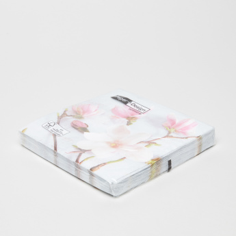 Paper+Design Magnolia Printed Paper Napkin - Set of 15