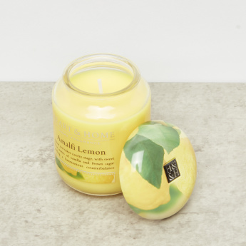 HEART & HOME Amalfi Lemon Jar Candle - 106 gms