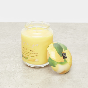 HEART & HOME Amalfi Lemon Jar Candle