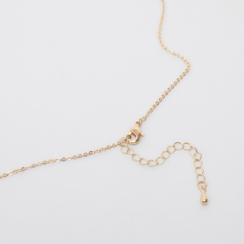 Sasha Arabic Number 12 Pendant Necklace with Lobster Clasp