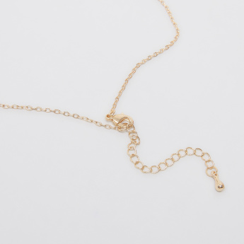 Sasha Arabic Love Necklace with Lobster Clasp
