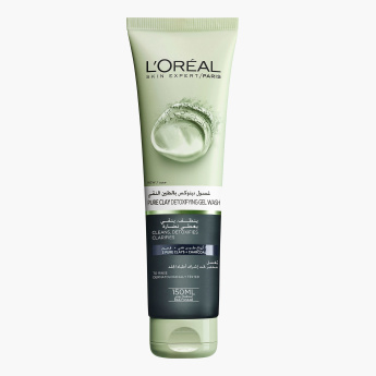L'OREAL Paris Pure Clay Detoxifying Charcoal Gel Wash