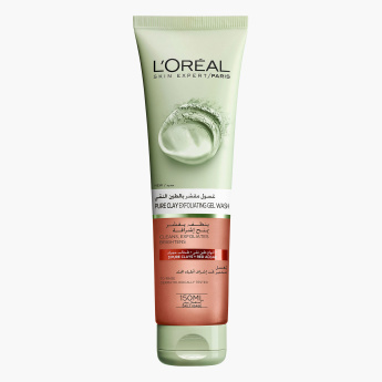 L'Oreal Paris Pure Clay Exfoliating Red Algae Gel Wash