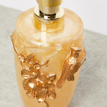 Golden Bird Textured Lotion Dispenser